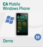 Demo CA Mobile - Windows Phone